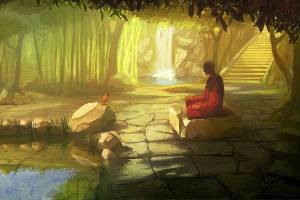 Meditation_January by_Goro79